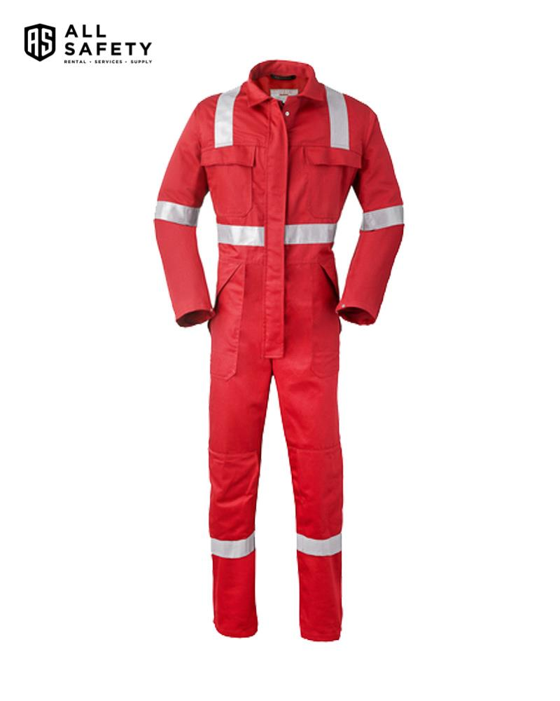 Havep 5Safety Overall 2033 Rood (Iso11611/11612  En1149/13034  Iec61482)
