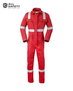 Havep 5Safety Overall 2033 Rood Iso11611/11612  En1149/13034  Iec61482